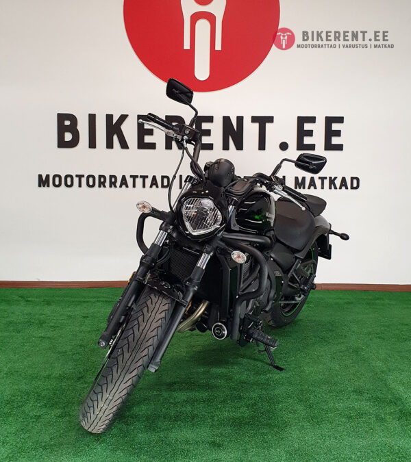 Pilt: Kawasaki Vulcan S 2020 renditsikkel Bikerent