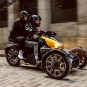 Pilt: Can-am Ryker 2021 kolmerattaline mootorratas rent