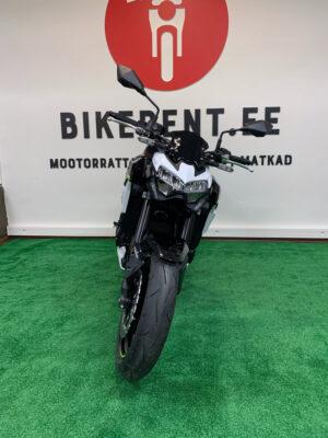 Pilt: Kawasaki Z900 renditsikkel Bikerent